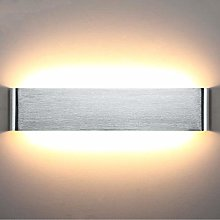 Lightess 18W Led Wall Light Indoor 40cm Long Thick