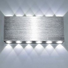Lightess 24W LED Wall Light 32cm Indoor Up and