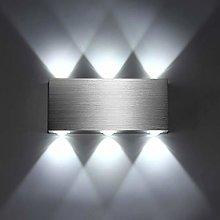 Lightess 6W LED Wall Light Indoor Modern Up Down