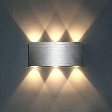 Lightess 6W LED Wall Light Modern Up Down Wall