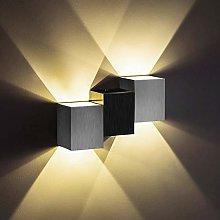 Lightess 6W LED Wall Lights Indoor Modern