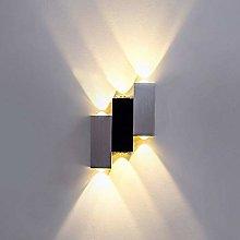 Lightess 6W Wall Lights Indoor Modern Aluminium Up