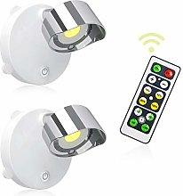 LIGHTESS Battery Spot Lights Indoor Remote,