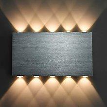 LIGHTESS Led Wall Light 30W Aluminium Up and Down