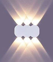 LIGHTESS LED Wall Light Indoor 6W Aluminum 3000K