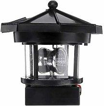 Lighthouse LED Rotating Light Outdoor Garden