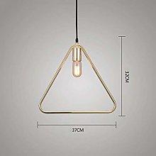 Lighting (Color : Gold, Size : 37 * 32cm) Modern