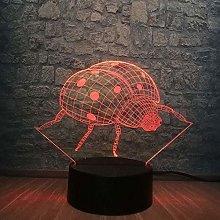 Lighting Decoration in Home 3D Night Light Animal
