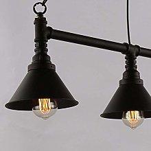 Lighting E27 * 3 black Retro loft chandelier