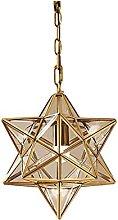 Lighting Fixture European Creative Moravian Star