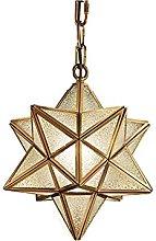 Lighting Fixture Moravian Star Island Pendant