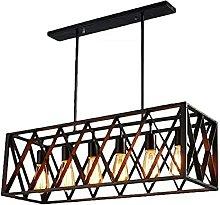 Lighting Fixture Retro Cage Hanging Lamp