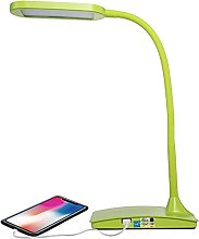 Lighting LED Desk Lamp with USB charging Port,