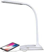 Lighting LED Desk Lamp with USB Port 3-Way Touch