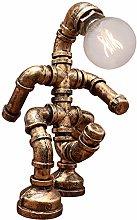 Lighting Loft Vintage Industrial Water Pipe Wood