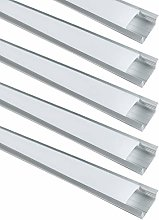 LightingWill 10-Pack LED Aluminum Channel System