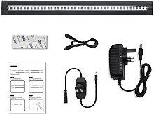 LightingWill Black LED Under Cabinet Lighting,
