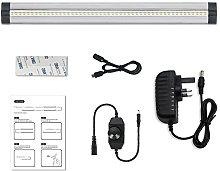 LightingWill Silver LED Under Cabinet Lighting,