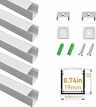 LightingWill Spot Free U Shape LED Aluminum