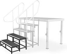 lightmaXX - Alu-Stage Stairs 40 2x Steps