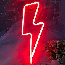 Lightning Shape Neon Signs Lights, Neon Lights for