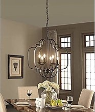 Lights Metal Chandelier Lighting Black Painted 23