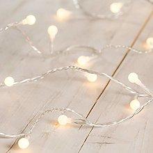 Lights4fun Indoor Berry Fairy Lights with 40 Warm
