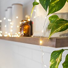 Lights4fun Indoor Fairy Lights with 200 Warm White