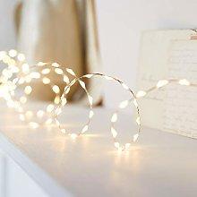 Lights4fun Indoor Micro Bead Fairy Lights 378 Warm