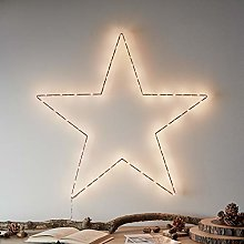 Lights4fun Large Battery Rose Gold Micro LED Osby