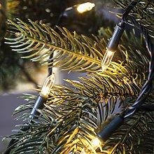 Lights4fun LED Christmas Tree Lights with Remote