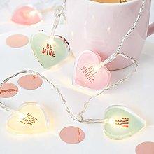 Lights4fun Love Heart Valentines String Lights 12