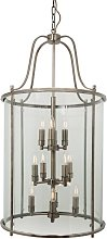 Lights4living - Hakka Giant Antique Brass 12 Light