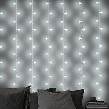 LightsGo 2 X 2 Metres 200 LED Cool White Window
