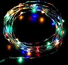 LightsGo 200 LED 20m Mains Powered Fairy Lights