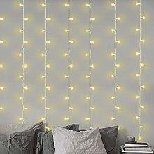 LightsGo 3 X 3 Metres 300 LED Warm White Window