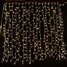 LightsGo 300 LED Curtain Lights 3x3m Mains Powered