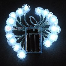 LightsGo Battery Powered Powered Snowball Shape