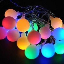 LightsGo USB Powered 50 LED 5M White Ball Globe