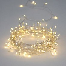 Lightstyle London - Cluster Silver 15m Mains