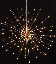 Lightstyle London - Hanging Starburst Light Copper