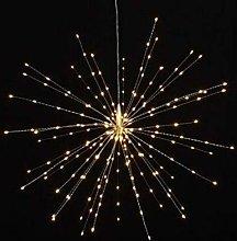 Lightstyle London - Hanging Starburst Light Silver
