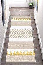 LIHY Geometry Rug Runner for Hallway, Non-slip