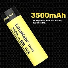 Lii-35S New 18650 Battery 3.7V Lithium ion 3500mAh