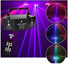 LIL Décor Mood Lights Party Remote DJ Disco Lamp