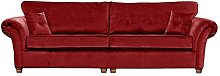 Lila 4 Seater Sofa Willa Arlo Interiors Upholstery