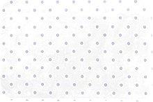 Lilac Polka Dots Pattern Rug for Boys Girls,