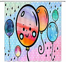 LILANG Shower Curtain 3D Waterproof Child Baby