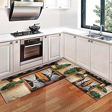 Lilatomer Kitchen Rugs,Non-Slip Soft Super