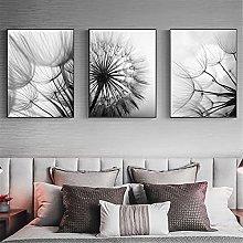 LILHXIU Abstract Dandelion Wall Art Canvas